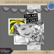 Sunshine and Lemons- Template Kit