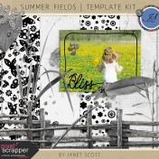 Summer Fields- Template Kit