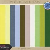Pond Life- Solid Paper Kit