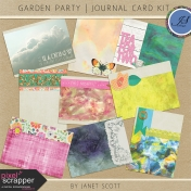 Garden Party- Journal Card Kit