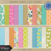 Garden Party- Paper Kit