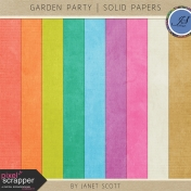 Garden Party- Solid Paper Kit