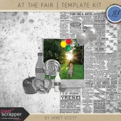 At the Fair- Template Kit