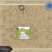 Garden Party- Doodle Template Kit