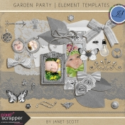 Garden Party- Element Template Kit