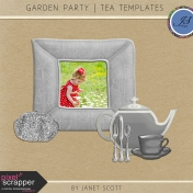 Garden Party- Tea Party Template Kit