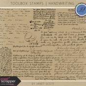 Toolbox Stamps- Handwriting Kit