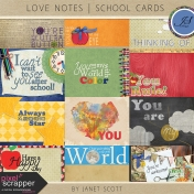 Love Notes- School Cards