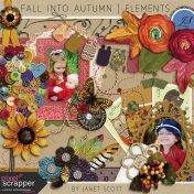 Fall Into Autumn- Elements Kit