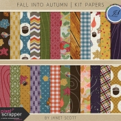 Fall Into Autumn- Paper Kit