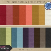 Fall Into Autumn- Solid Paper Kit