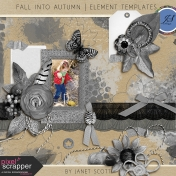 Fall Into Autumn- Element Template Kit