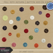 Fall Into Autumn- Button Add-On Kit
