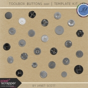 Toolbox Buttons 001- Template Kit