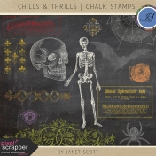 Chills & Thrills- Chalk Stamp Kit