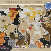 Chills & Thrills- Doodles Kit