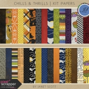 Chills & Thrills- Paper Kit