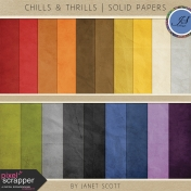 Chills & Thrills- Solid Paper Kit