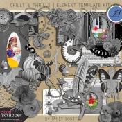 Chills & Thrills- Element Template Kit