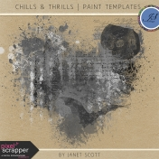 Chills & Thrills- Paint Template Kit