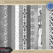 Chills & Thrills- Overlay and Texture Template Kit