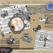 Our House- Element Template Kit