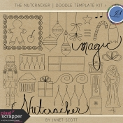 The Nutcracker- Doodle Template Kit 1