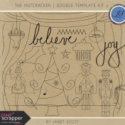 The Nutcracker- Doodle Template Kit 2