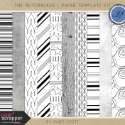The Nutcracker- Overlay & Texture Template Kit