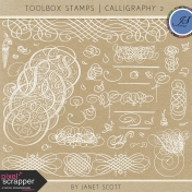 Toolbox Stamps - Calligraphy Kit 2
