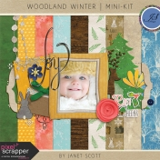 Woodland Winter- Blog Train Mini-Kit