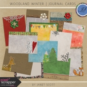 Woodland Winter- Journal Card Kit