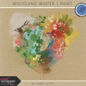 Woodland Winter- Paint Kit