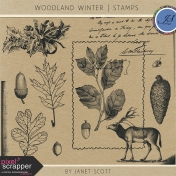 Woodland Winter- Stamp Kit