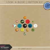 Look, a Book!- Button Kit