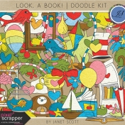 Look, a Book!- Doodle Kit