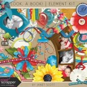 Look, a Book!- Element Kit