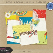 Look, a Book!- Journal Card Kit