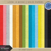 Look, a Book!- Solid Paper Kit