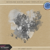Woodland Winter- Paint Template Kit
