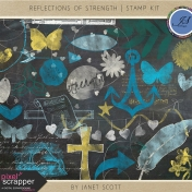 Reflections of Strength- Stamp Kit