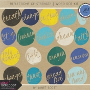 Reflections of Strength- Word Dot Kit