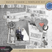 Rustic Charm- Template Kit
