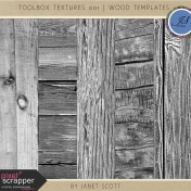 Toolbox Textures 001- Wood Templates