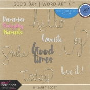 Good Day- Word Art Kit