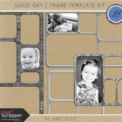 Good Day- Frame Template Kit