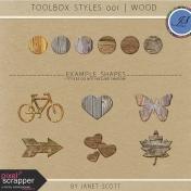 Toolbox Styles 001- Wood