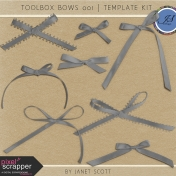 Toolbox Bows 001- Template Kit