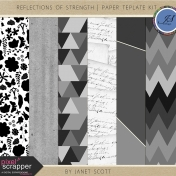 Reflections of Strength- Paper Template Kit