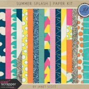 Summer Splash- Paper Kit